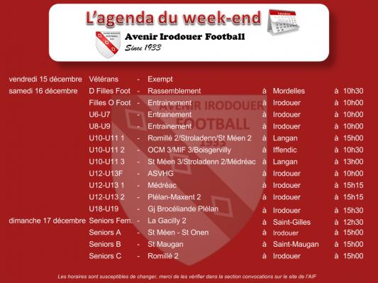 171217 agenda weekend