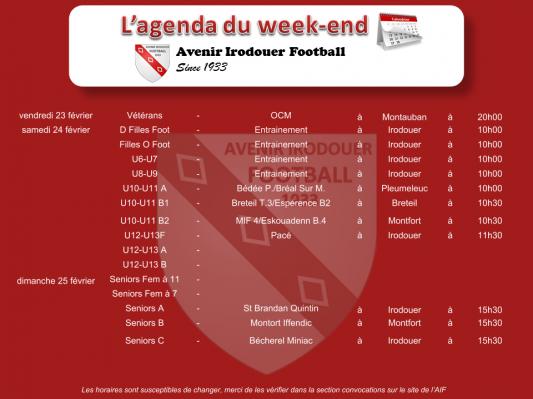 180225 agenda weekend 1