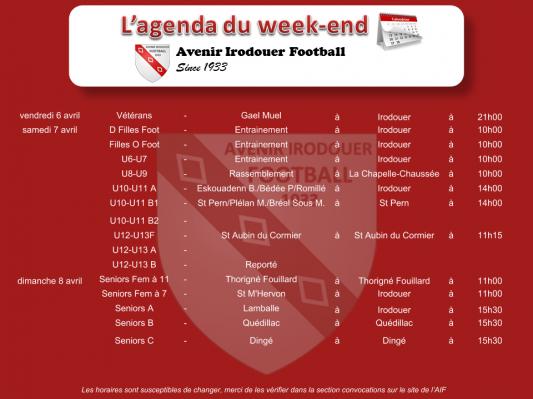 180408 agenda weekend