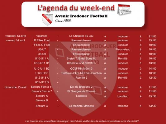 180415 agenda weekend 1