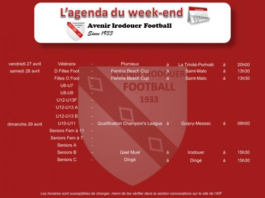 180429 agenda weekend