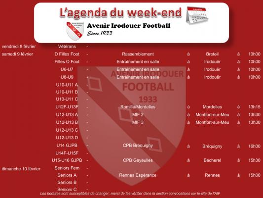 190210 agenda weekend