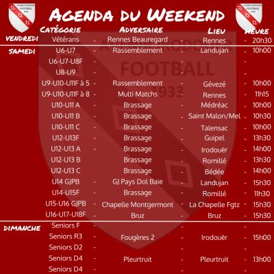 191013 agenda weekend