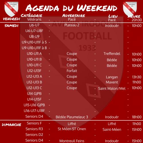191117 agenda weekend 2