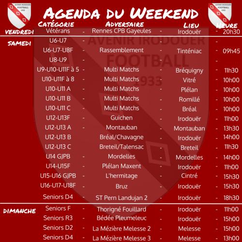 191201 agenda weekend