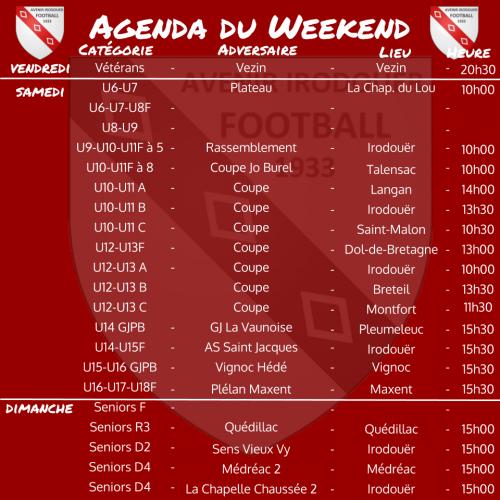 191208 agenda weekend