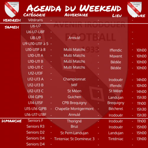 191215 agenda weekend 1