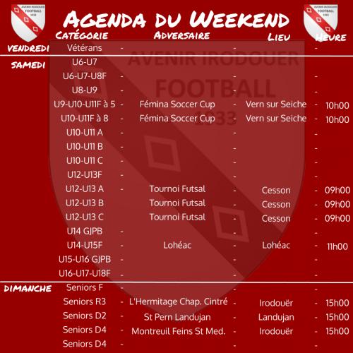 191222 agenda weekend