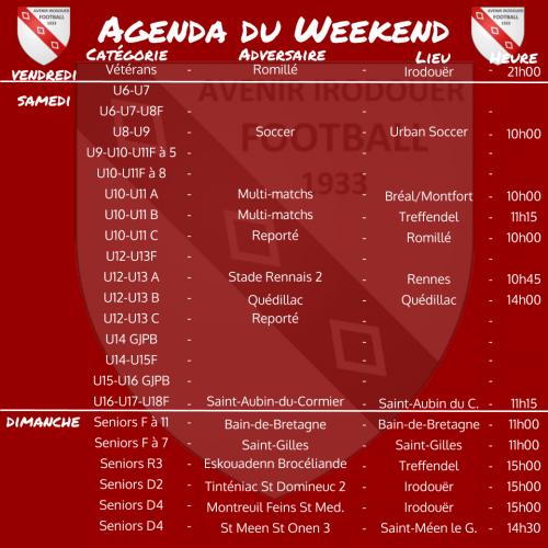 200119 agenda weekend