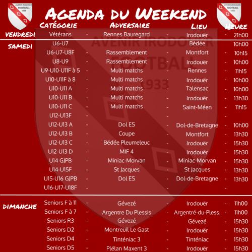 200318 agenda weekend