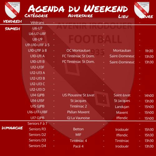 200913 agenda weekend