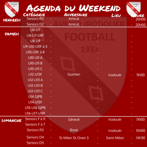 20200216 agenda weekend