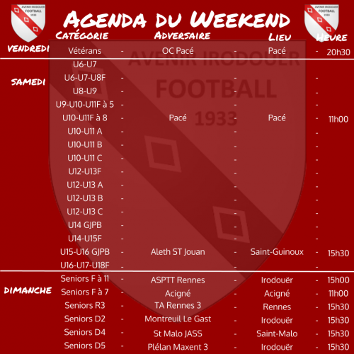 20200301 agenda weekend 2