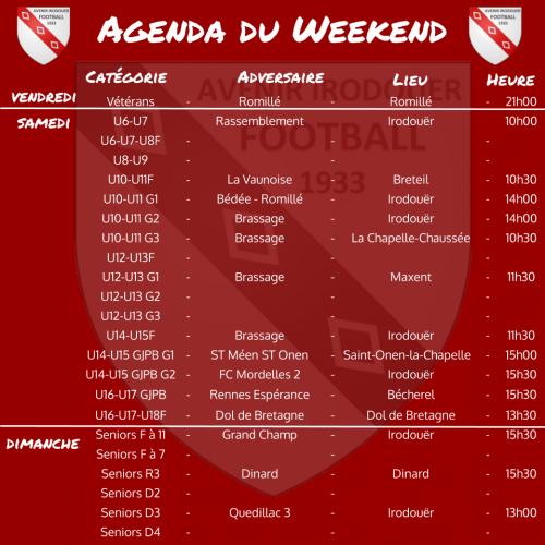 20201018 agenda weekend