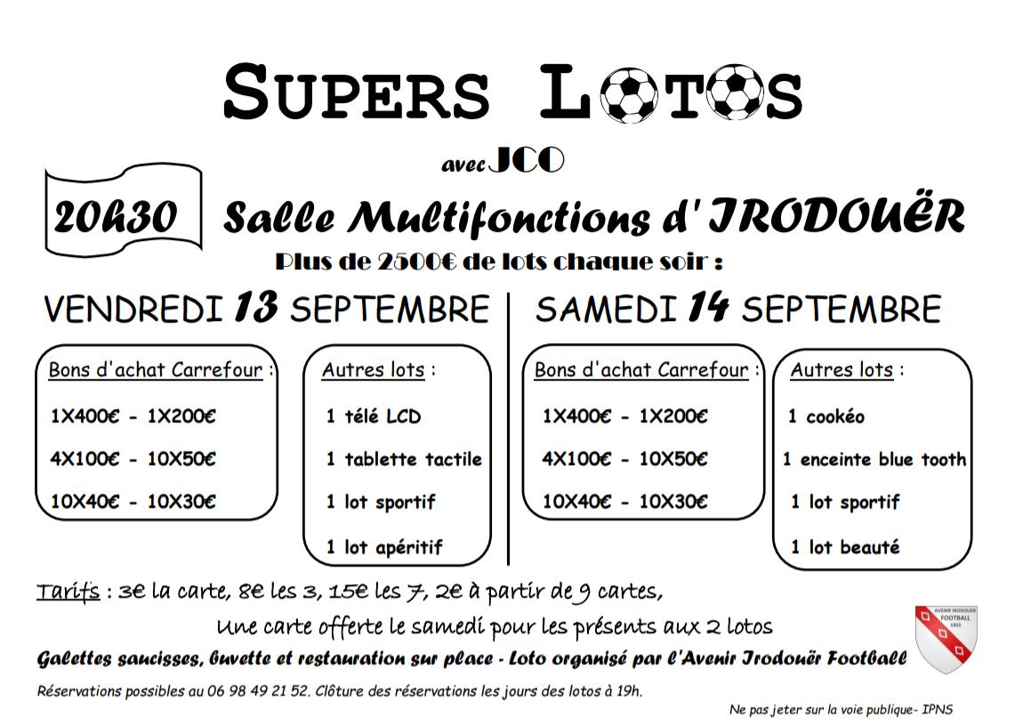 Affiche loto 19