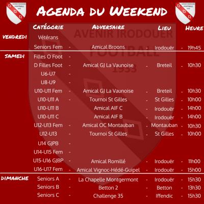 Agenda weekend 1 2