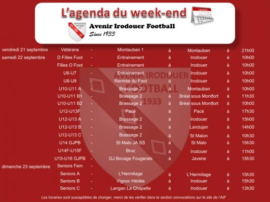 Agenda weekend 1