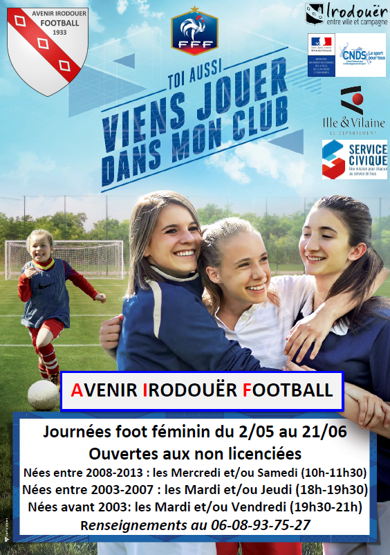 Journee foot feminin 1