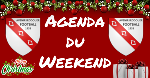 Logo agenda weekend noel