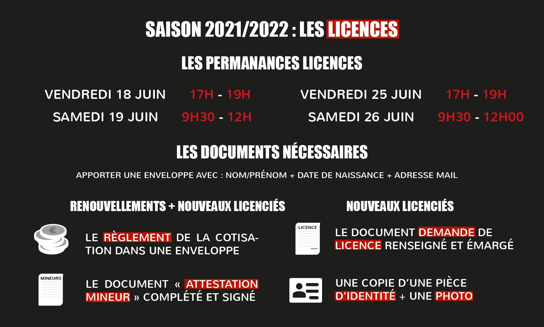 Permanence et licence 3x