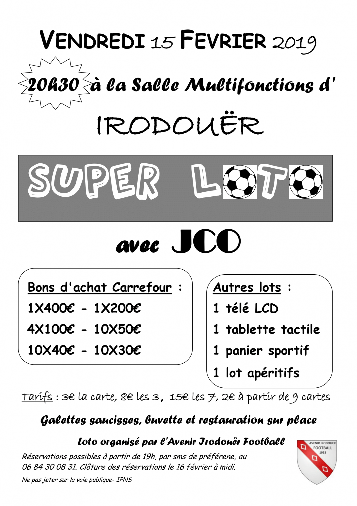 Version affiche loto fevrier 2019 1
